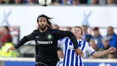 Celtic striker Georgios Samaras