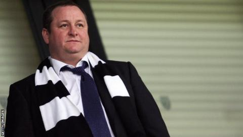 Newcastle owner Mike Ashley