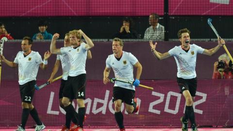 German men's hockey team