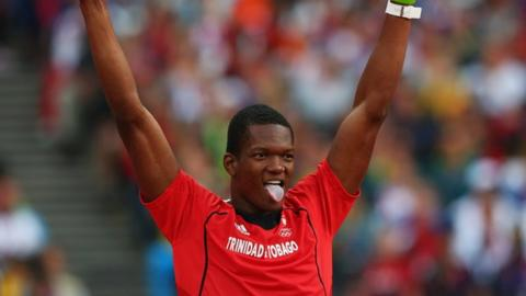 Trinidad and Tobago's Keshorn Walcott