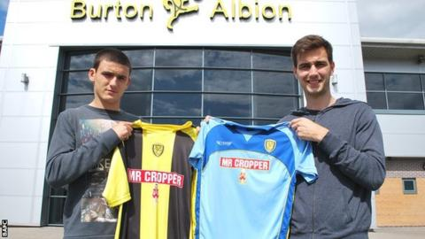 Anthony O'Connor (left) and Matt Paterson