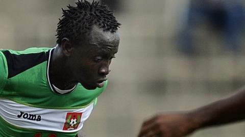 Guinea-Bissau international striker Bazile De Carvalho