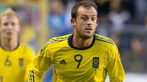 Scottish striker Steven Fletcher