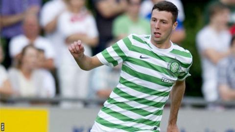 Celtic defender Lewis Toshney