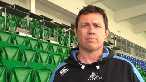 Scotland and Glasgow defence coach Matt Taylor