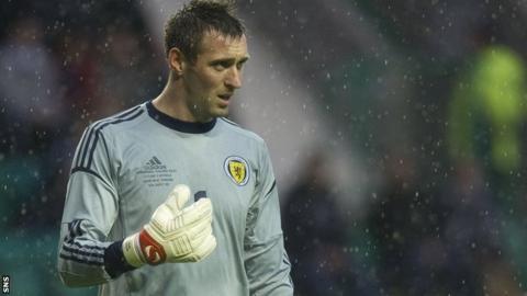 Scotland goalkeeper Allan McGregor