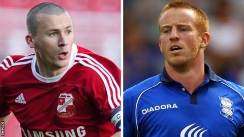 Paul Caddis and Adam Rooney