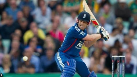 England batsman Eoin Morgan