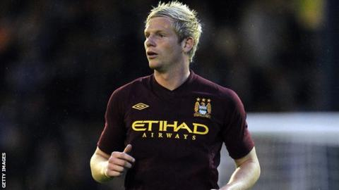 Manchester City defender Ryan McGivern