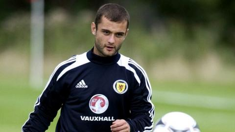 Scotland midfielder Shaun Maloney