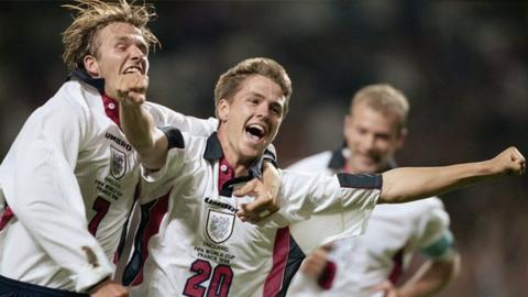 Michael Owen's most memorable England goals