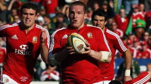 Gethin Jenkins on the 2009 Lions tour