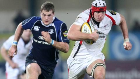In Magners League action against Leinster in 2008