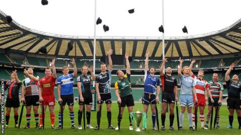 Heineken Cup launch 2012