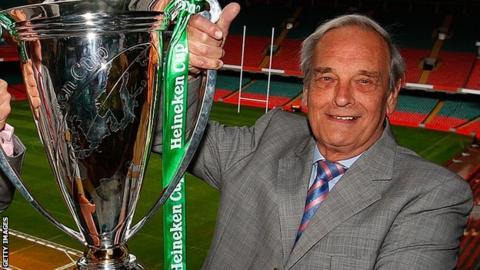 Former RFU chairman Martyn Thomas