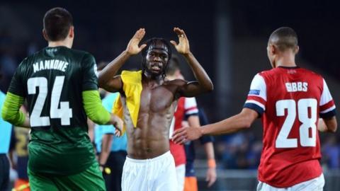 Montpellier v Arsenal
