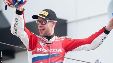 World Superbike rider Jonathan Rea