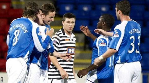 St Johnstone v Queen's Park
