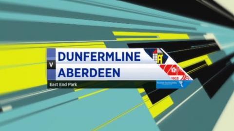 Dunfermline v Aberdeen