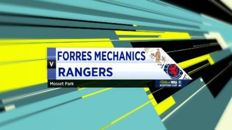 Highlights - Forres Mechanics 0-1 Rangers