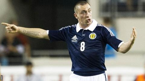 Scott Brown has been capped 28 times by Scotland