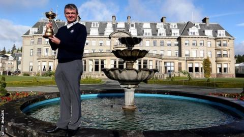 Ryder Cup winner Paul Lawrie