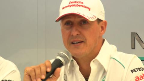 Seven-time world champion Michael Schumacher