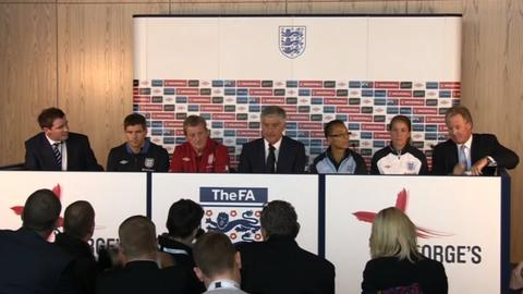England delighted with new centre of excellence