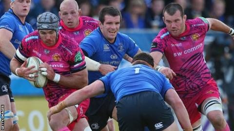 Exeter Chiefs vs Leinster