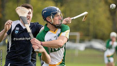 Ireland were winners at Bught Park