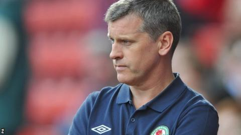 Blackburn caretaker Eric Black