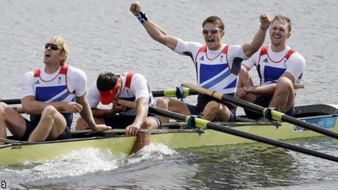 Team GB rowing
