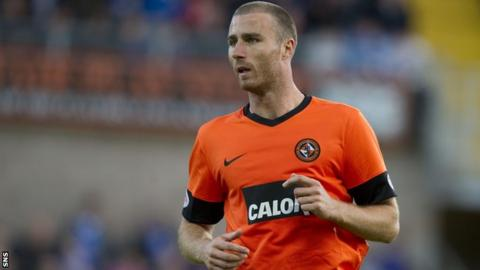 Dundee United defender Sean Dillon
