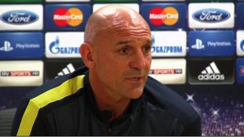 Arsenal assistant manager Steve Bould