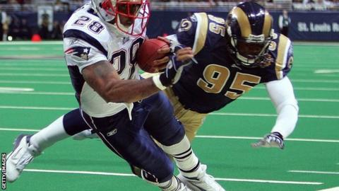 New England Patriots and St Louis Rams