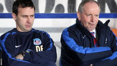 Dougie Freedman and Lennie Lawrence