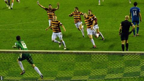 Wigan Athletic v Bradford City