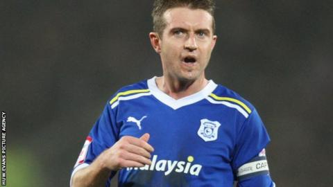 Cardiff midfielder Stephen McPhail