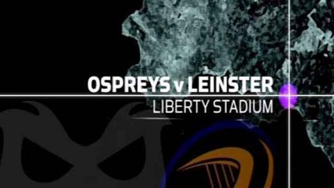 Pro12: Ospreys 19-10 Leinster