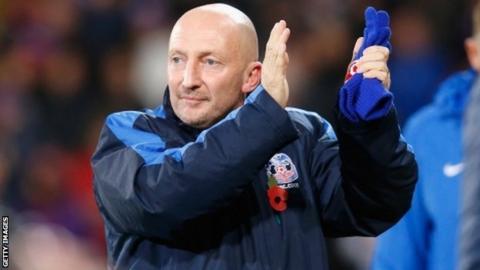 New Crystal Palace manager Ian Holloway
