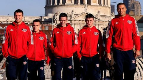 Anthony Fowler, Sean McGoldrick, Josh Taylor, Fred Evans, Joe Joyce