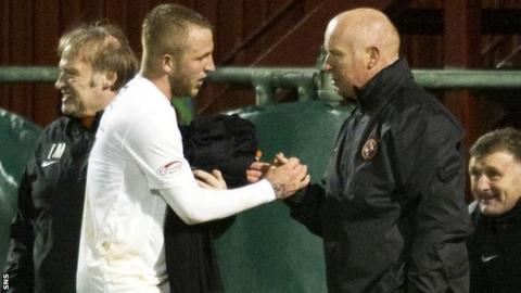 Johnny Russell and Peter Houston