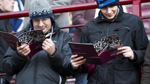 Hearts supporters examine share issue plans