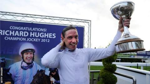 Champion Flat jockey Richard Hughes