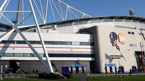Reebok Stadium, home of Bolton Wanderers