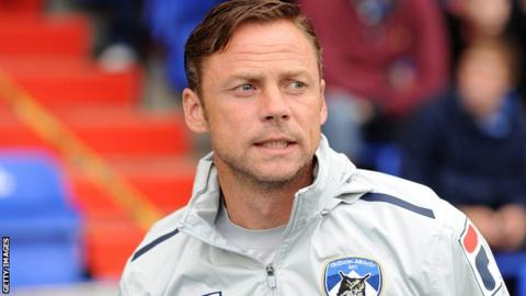 Oldham Athletic manager Paul Dickov