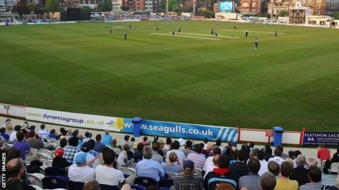 Sussex's ground at Hove