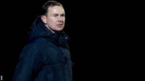 Derek Adams versus St Johnstone