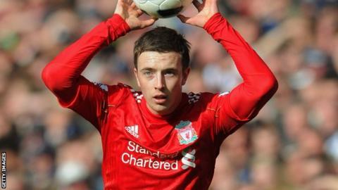 Liverpool defender Danny Wilson