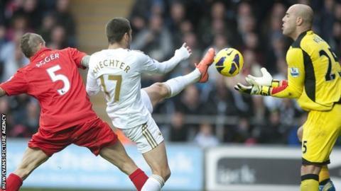 Swansea City v Liverpool